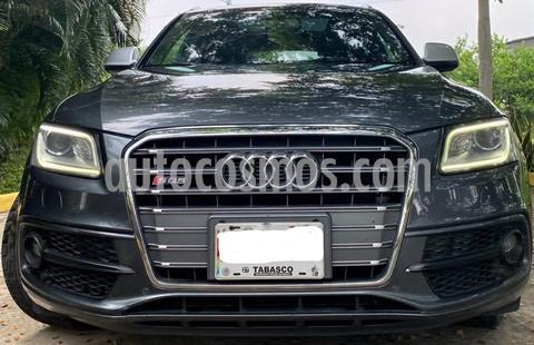 Audi Serie S SQ5 3.0L T FSI (354 hp) usado (2014) color Gris Oscuro precio $400,000