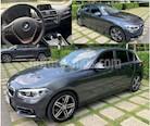 Foto venta Auto usado BMW Serie 1 5P 120iA Sport Line (2016) color Gris Mineral precio $360,000