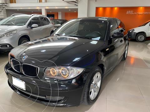 BMW Serie 1 120i 5P usado (2009) color Negro precio $1.499.000