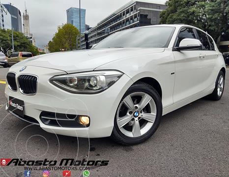 BMW Serie 1 118d 5P usado (2013) color Blanco Alpine precio u$s18.900