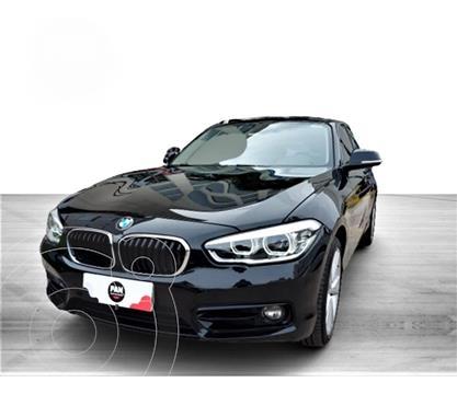 BMW Serie 1 120i usado (2018) color Negro precio u$s35.000