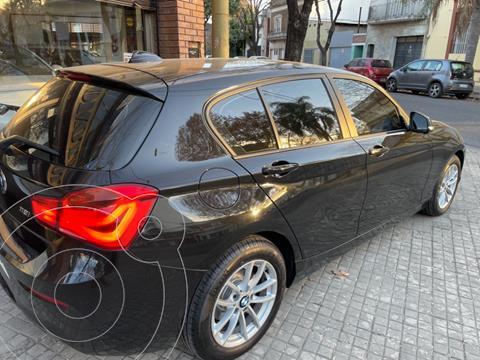 BMW Serie 1 118i Active 5P usado (2017) color Negro precio $3.700.000