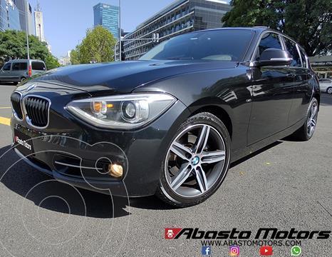 BMW Serie 1 118i Sport Line 5P usado (2013) color Negro precio u$s17.900