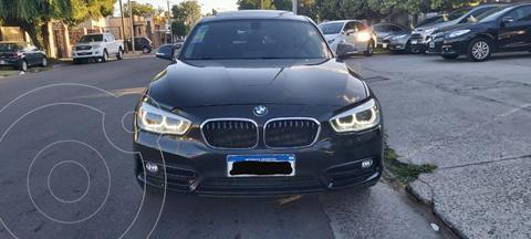 BMW Serie 1 120i Sport Line 5P usado (2016) color Negro precio u$s25.800