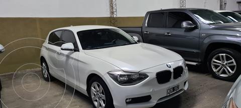 BMW Serie 1 116i 5P usado (2013) color Blanco Alpine precio $2.600.000
