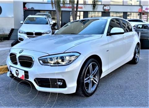 BMW Serie 1 118i Sport Line 5P usado (2017) color Blanco precio u$s24.000