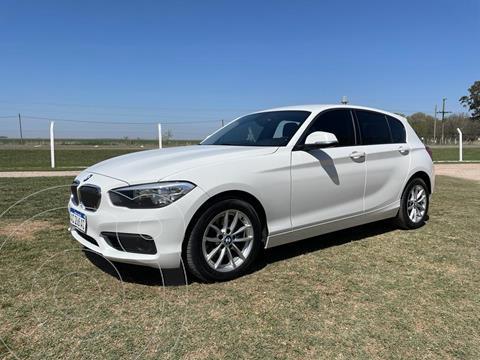 BMW Serie 1 118i Active 5P Aut usado (2018) color Blanco precio u$s20.000