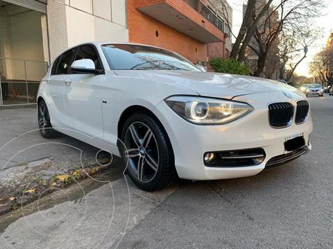 BMW Serie 1  SPORT 5 PTAS usado (2013) color Blanco precio u$s16.600