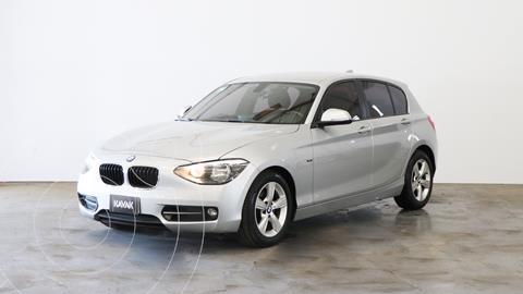 BMW Serie 1 118i 5P usado (2013) color Gris Mineral precio $2.920.000