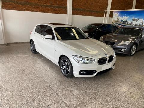 BMW Serie 1 118i Sport Line 5P usado (2017) color Blanco Mineral precio u$s33.900