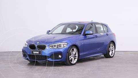 BMW Serie 1 120i Paquete M 5P usado (2017) color Azul Metalizado precio $5.410.000