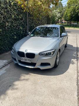 BMW Serie 1 120i Diesel 5P usado (2014) color Plata precio $14.000.000