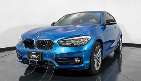 BMW Serie 1 3P 118i Sport Line usado (2018) color Azul precio $352,999