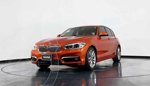 BMW Serie 1 3P 120iA Urban Line usado (2016) color Naranja precio $284,999