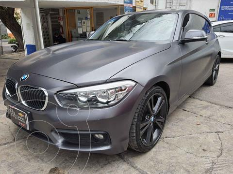 BMW Serie 1 3P 120i usado (2016) color Gris precio $289,000