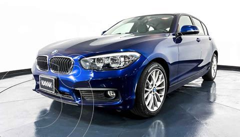 BMW Serie 1 5P 120iA usado (2016) color Azul precio $284,999