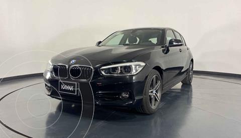 BMW Serie 1 5P 120iA Sport usado (2016) color Negro precio $339,999