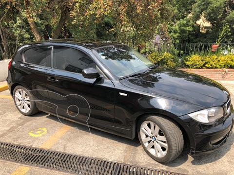 BMW Serie 1 3P 120iA Style usado (2011) color Negro precio $185,000
