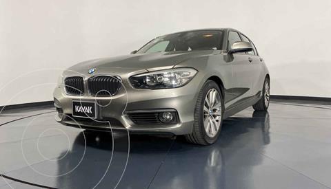 BMW Serie 1 5P 120iA usado (2016) color Gris precio $269,999
