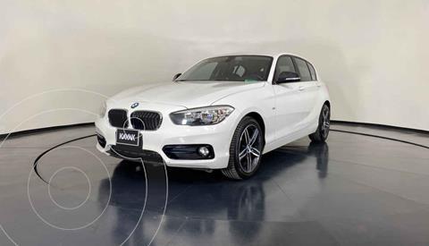 BMW Serie 1 5P 118i Sport Line usado (2018) color Blanco precio $337,999