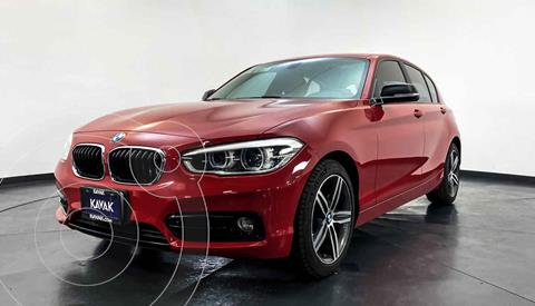 BMW Serie 1 5P 120iA Sport usado (2016) color Rojo precio $342,999