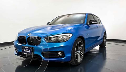 BMW Serie 1 5P 118i Sport Line usado (2018) color Azul precio $327,999