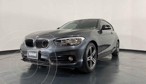 BMW Serie 1 3P 118i Sport Line usado (2018) color Gris precio $334,999