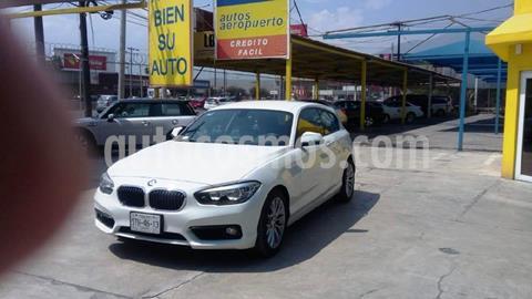 BMW Serie 1 5P 120iA Urban Line usado (2016) color Blanco precio $295,000