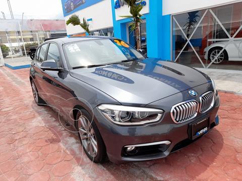 BMW Serie 1 3P 120iA Urban Line usado (2016) color Gris Oscuro precio $305,000