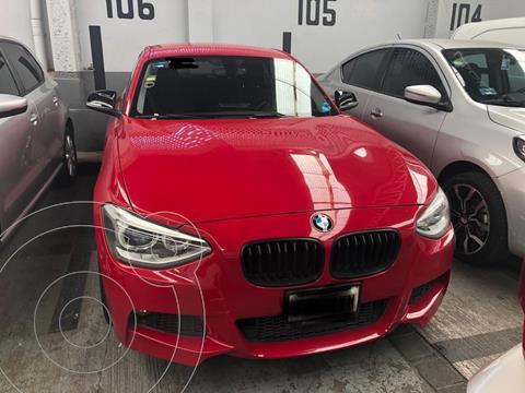 BMW Serie 1 3P 118i Sport Line usado (2013) color Rojo precio $210,000