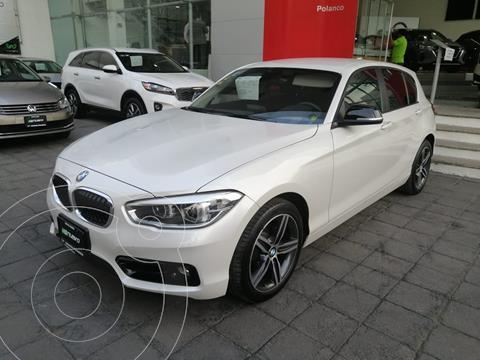 BMW Serie 1 5P 120iA Sport Line usado (2016) color Blanco Mineral precio $309,000