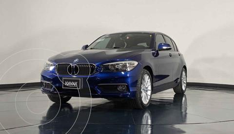 BMW Serie 1 3P 120iA Urban Line usado (2016) color Azul precio $291,999