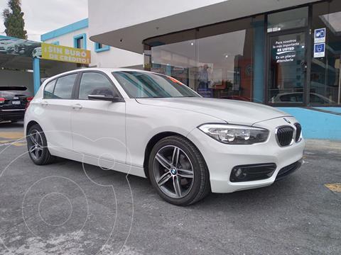 BMW Serie 1 3P 118i Sport Line usado (2018) color Blanco precio $349,000