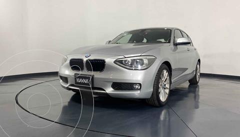 BMW Serie 1 5P 118iA usado (2014) color Plata precio $239,999