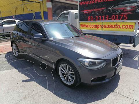 BMW Serie 1 5P 118iA usado (2013) color Gris precio $185,000