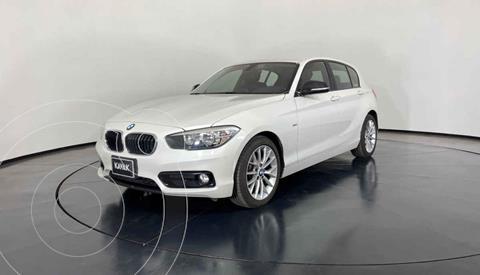 BMW Serie 1 5P 118i Sport Line usado (2018) color Blanco precio $357,999