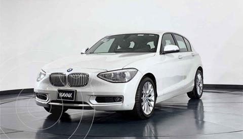 BMW Serie 1 5P 118iA usado (2014) color Blanco precio $229,999
