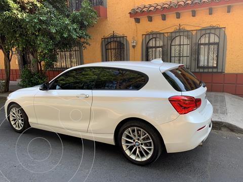 BMW Serie 1 3P 120iA Sport Line usado (2016) color Blanco Mineral precio $288,000