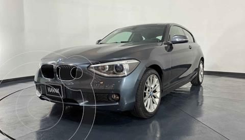 BMW Serie 1 3P 118iA  usado (2014) color Gris precio $227,999