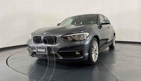BMW Serie 1 3P 120iA usado (2016) color Gris precio $299,999