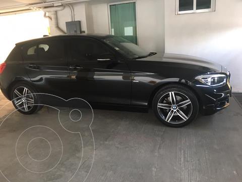 BMW Serie 1 120iA Sport Line usado (2017) color Negro Zafiro precio $385,000