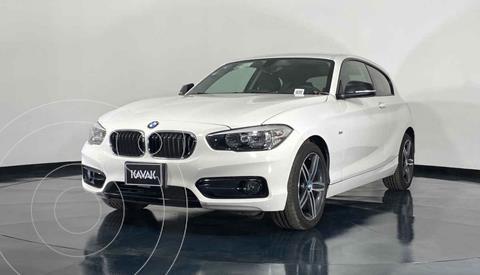 BMW Serie 1 3P 118i Sport Line usado (2018) color Blanco precio $352,999