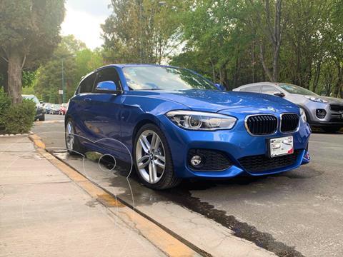 BMW Serie 1 3P 120iA M Sport usado (2017) color Azul Liquido precio $350,000