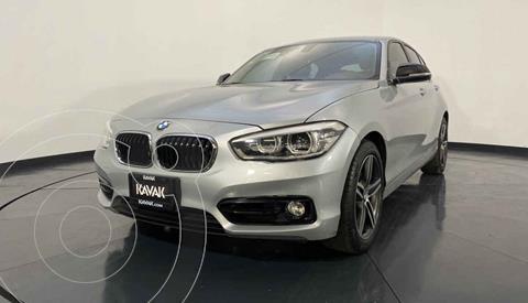 BMW Serie 1 5P 120iA Sport usado (2016) color Plata precio $349,999