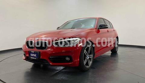 BMW Serie 1 5P 120iA Sport usado (2016) color Rojo precio $329,999