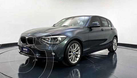 BMW Serie 1 5P 118iA usado (2014) color Gris precio $234,999