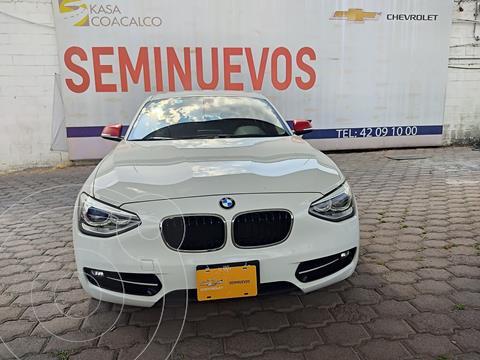 BMW Serie 1 3P 118iA Sport Line usado (2014) color Blanco precio $245,000