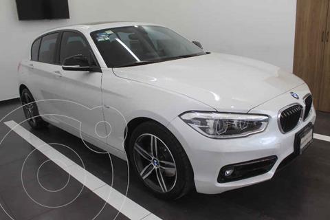 BMW Serie 1 5P 120iA Sport Line usado (2017) color Blanco precio $315,000