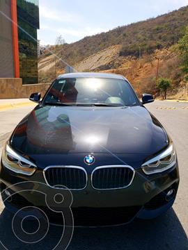 BMW Serie 1 5P 120iA M Sport usado (2016) color Negro precio $289,000