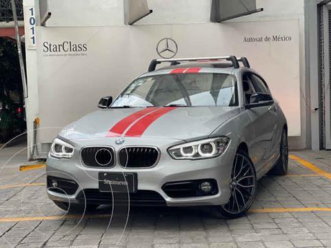 BMW Serie 1 3P 120iA Sport Line usado (2018) color Gris precio $355,000